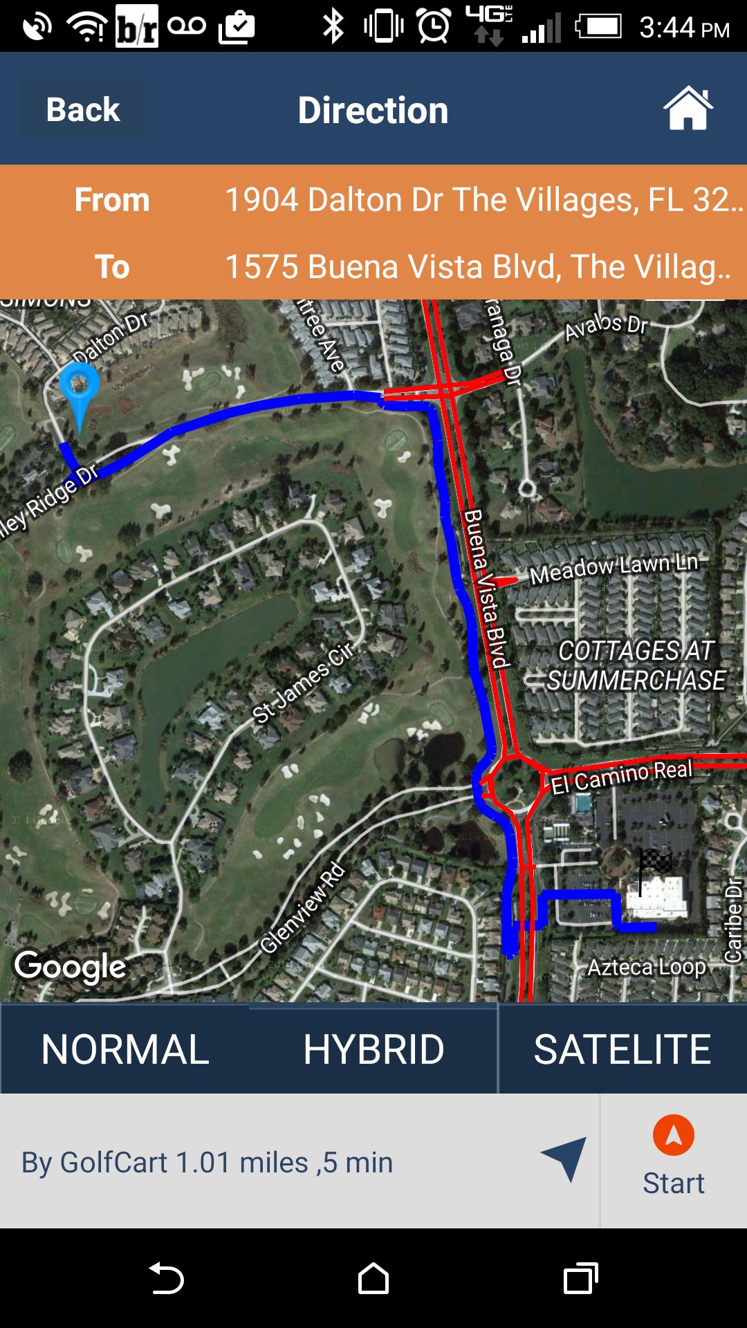 Worksheet. The Villages GPS  Home